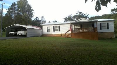 Tazewell TN Single Family Home For Sale: $180,000