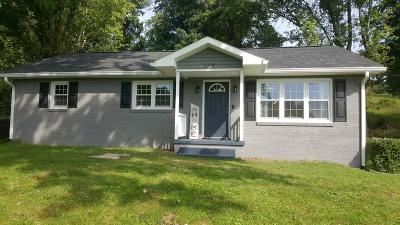 New Tazewell Single Family Home For Sale: 1018 Overton Drive