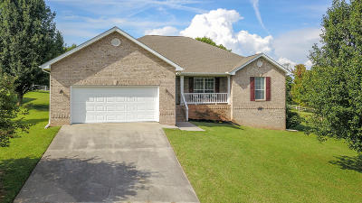 Friendsville Single Family Home For Sale: 3422 Summer Drive