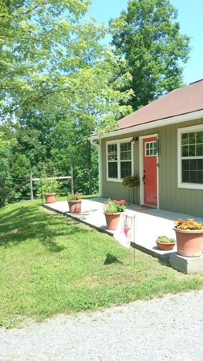 Single Family Home For Sale: 146 Ponders Gap Rd