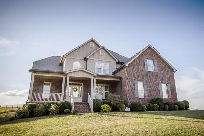 Knoxville Single Family Home For Sale: 1521 Mountain Hill Lane