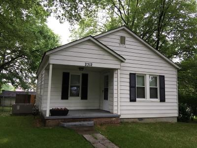 Knoxville Single Family Home For Sale: 2312 Dodson Ave