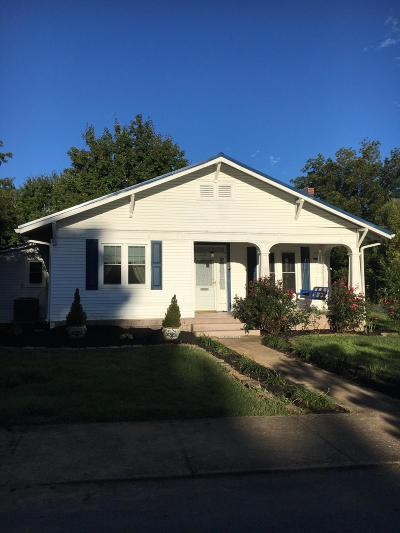 Madisonville Single Family Home For Sale: 164 S College St