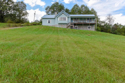 Single Family Home For Sale: 744 Dry Valley Rd