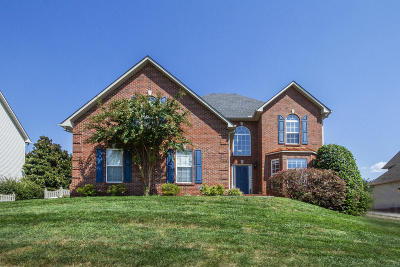Knoxville Single Family Home For Sale: 628 Lake Heather Rd