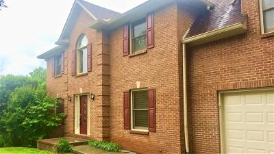 Knoxville Single Family Home For Sale: 103 Tate Point