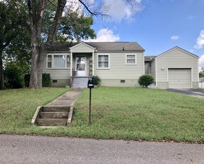 Knoxville Single Family Home For Sale: 1805 Wallace Drive