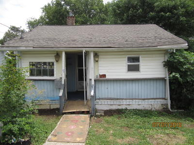 Knoxville Single Family Home For Sale: 1618 Grainger Ave