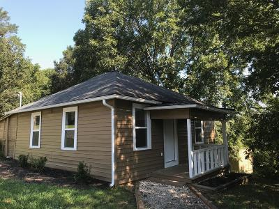 Morristown Single Family Home For Sale: 822 Donna St