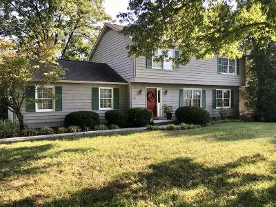 Knoxville Single Family Home For Sale: 1404 Farrington Drive