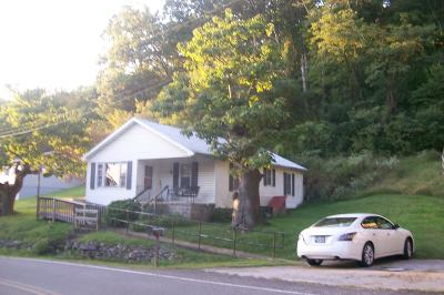 Caryville Single Family Home For Sale: 1501 Cherry Bottom Rd