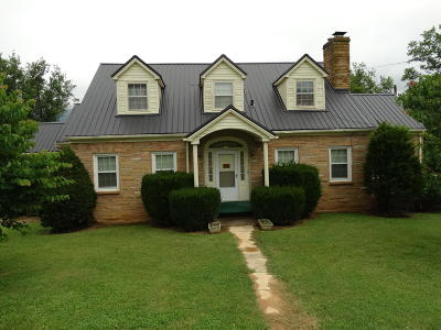 Ewing Single Family Home For Sale: 1753 Dr. Thomas Walker Rd