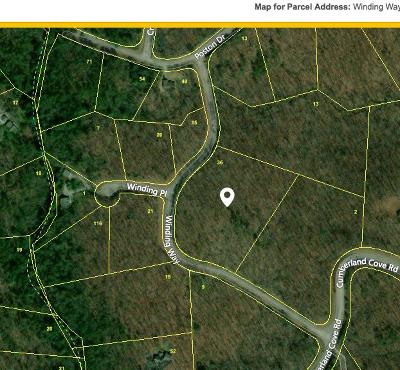 Cumberalnd Cove, Cumberland Cove, Cumberland Cove ., Cumberland Cove, A Vast Wooded Subdivision On The Plateau Between Cookeville And, Cumberland Cove Iv, Cumberland Cove Unit, Cumberland Cove Unit 2, Cumberland Cove Unit Lii Residential Lots & Land For Sale: Winding Way 5.3
