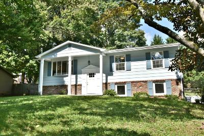 Knoxville Single Family Home For Sale: 4205 NW Pleasantwood Drive