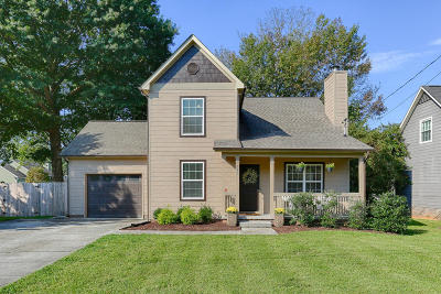 Knoxville Single Family Home For Sale: 629 Blackburn Drive