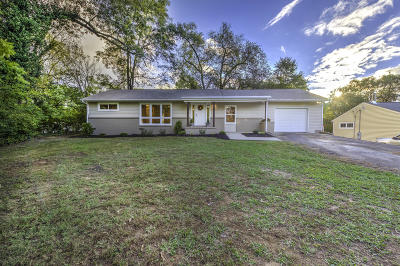 Knoxville Single Family Home For Sale: 1410 Kirby Rd