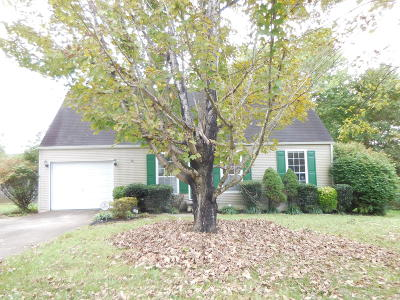 Knoxville TN Single Family Home For Sale: $134,900