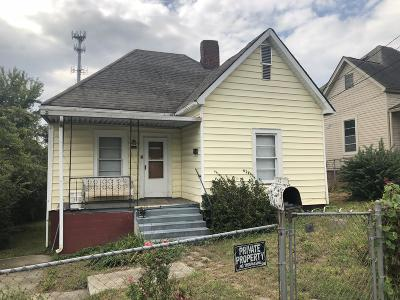 Knoxville Single Family Home For Sale: 1717 Worth St