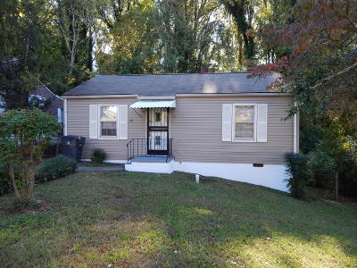 Knoxville TN Single Family Home For Sale: $59,000