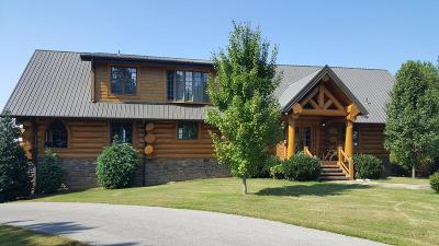 Single Family Home For Sale: 1321 Sunset Rd. Rd