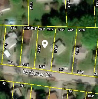 Oak Ridge Residential Lots & Land For Sale: 678 W Outer Drive