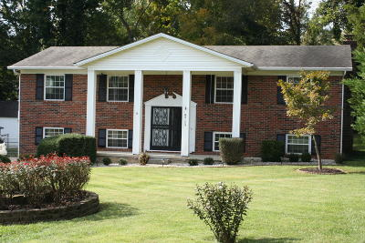 Knoxville Single Family Home For Sale: 9129 Carlton Circle