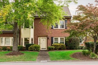 Knoxville Condo/Townhouse For Sale: 325 Suburban Rd