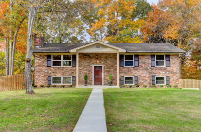 Knoxville Single Family Home For Sale: 8012 W Cliff Drive