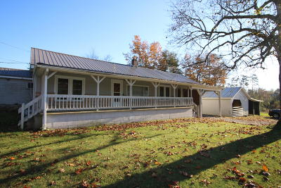Crossville Single Family Home For Sale: 3230 Cox Valley Rd