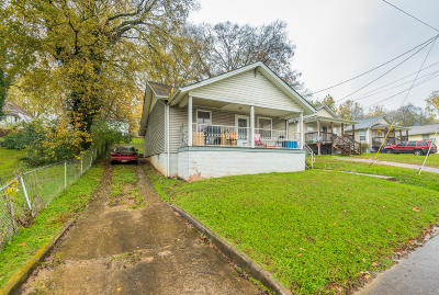 Knoxville TN Single Family Home For Sale: $64,900