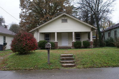 Knoxville TN Single Family Home For Sale: $129,000