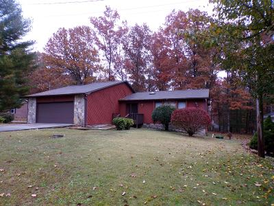 Crossville TN Single Family Home For Sale: $144,500
