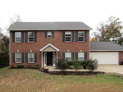 Knoxville Single Family Home For Sale: 10535 Bob Gray Rd