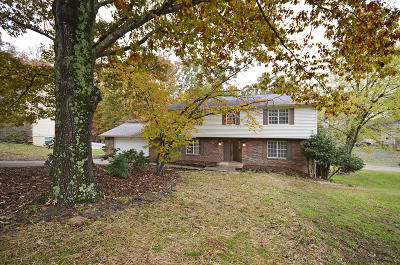 Knoxville Single Family Home For Sale: 1625 Winding Ridge Tr