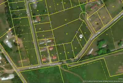 Sweetwater Residential Lots & Land For Sale: Anderson Road Rd