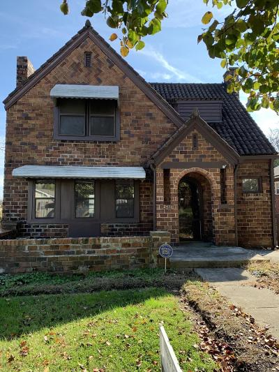 Knoxville Single Family Home For Sale: 2516 Parkview Ave