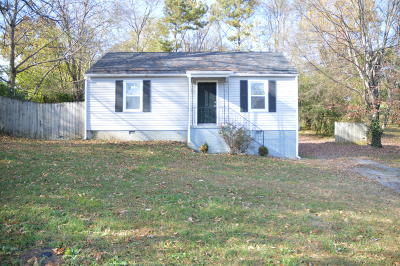 Knoxville TN Single Family Home For Sale: $94,900