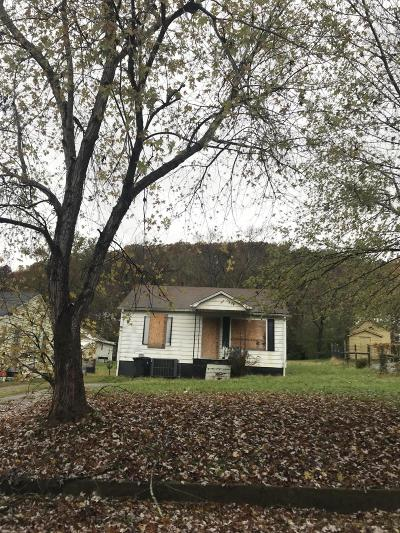 Knoxville TN Single Family Home For Sale: $40,000