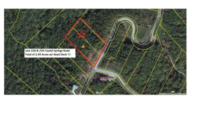 Meigs County, Rhea County, Roane County Residential Lots & Land For Sale: Crystal Springs Rd