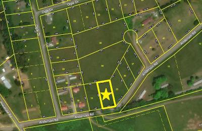 Sweetwater Residential Lots & Land For Sale: Anderson Rd
