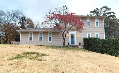Knoxville Single Family Home For Sale: 1008 Misty Springs Rd