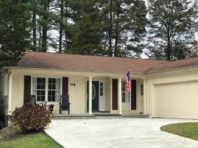 Oak Ridge Single Family Home For Sale: 114 Concord Rd