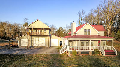 Blount County, Knox County, Loudon County, Monroe County Single Family Home For Sale: 3998 Black Rd