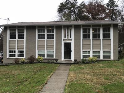 Knoxville TN Single Family Home Sold: $156,900