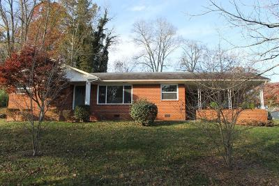 Knoxville Single Family Home For Sale: 715 Brown Mountain Rd