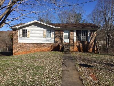 Cocke County Single Family Home For Sale: 1410 Green Acres Drive