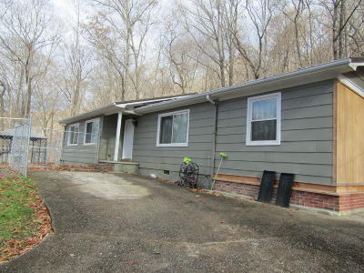 Middlesboro Single Family Home For Sale: 380 Sam's Mountain Rd