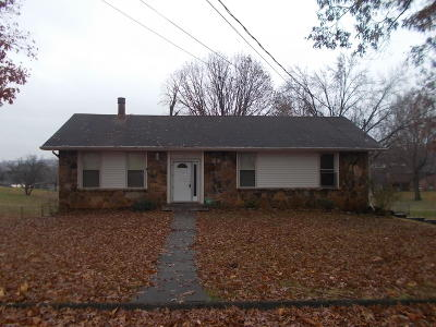 Morristown TN Single Family Home For Sale: $85,000