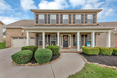Knoxville Single Family Home For Sale: 1342 Hillman Rd
