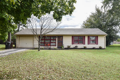 Knoxville TN Single Family Home For Sale: $122,900